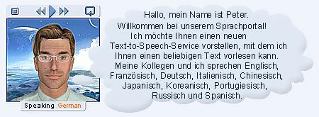 German Text-to-Speech service